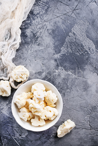 raw cauliflower Stock photo © tycoon
