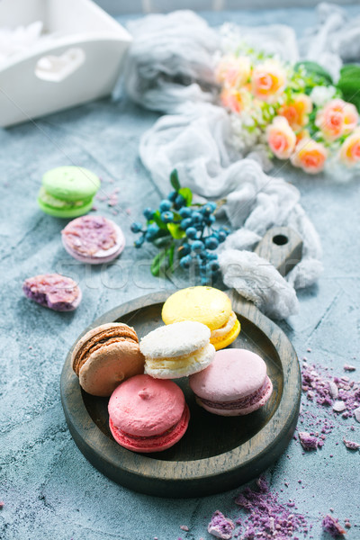 Stock photo: macaroons