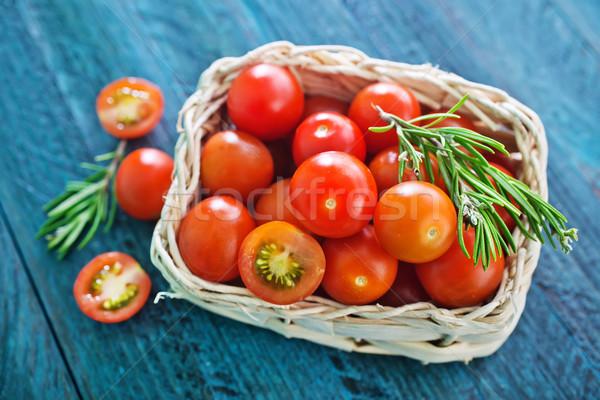 fresh tomato Stock photo © tycoon