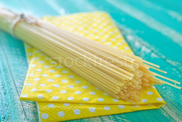 raw pasta Stock photo © tycoon