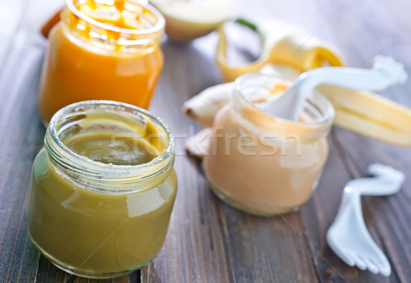 baby food Stock photo © tycoon