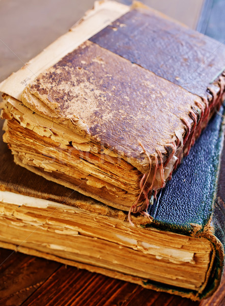 books Stock photo © tycoon