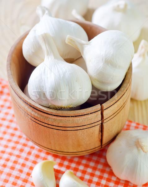 garlic Stock photo © tycoon