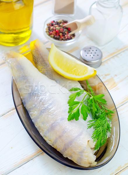 Stock foto: Fisch · Essen · Abendessen · Essen · Kochen
