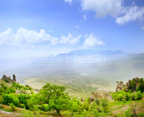 mountain in Crimea Stock photo © tycoon