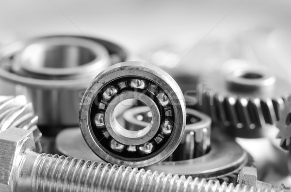 nuts,bolts and gears Stock photo © tycoon