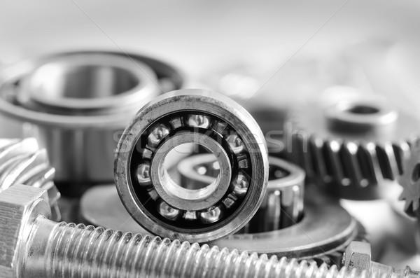Attrezzi lavoro sfondo industriali macchina strumento Foto d'archivio © tycoon