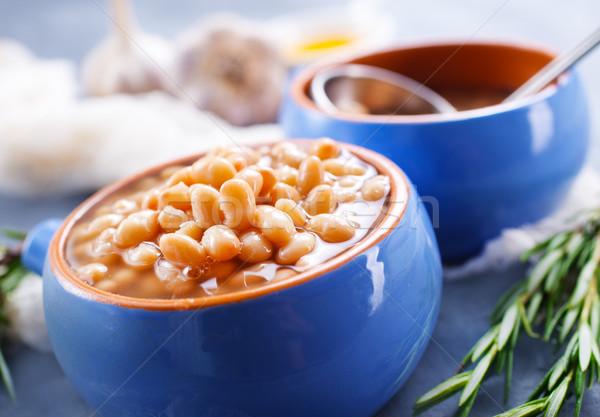 white bean Stock photo © tycoon