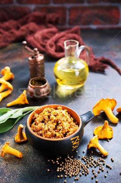 Mushroom caviar  Stock photo © tycoon