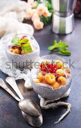 唐辛子 塩 プレート 食品 海 ストックフォト © tycoon