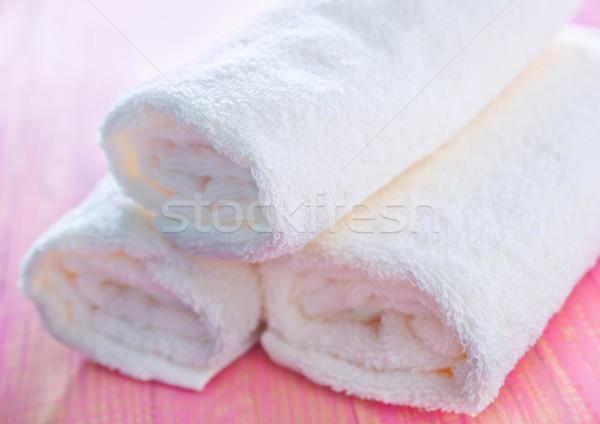 Egészség űr csoport szövet fürdőszoba fürdő Stock fotó © tycoon