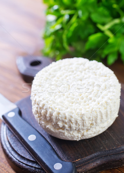 Mutfak peynir süt plaka yağ beyaz Stok fotoğraf © tycoon