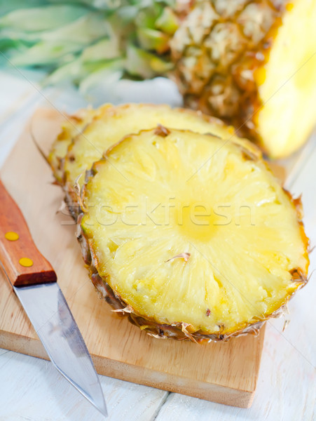 ананаса продовольствие яблоко пустыне лет цвета Сток-фото © tycoon