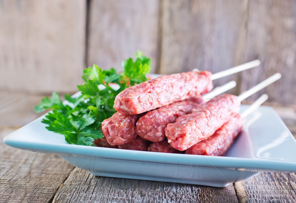 Turco tradicional carne quibe prato Foto stock © tycoon