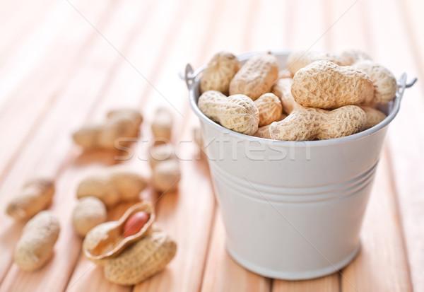 арахис здоровья группа красный еды оболочки Сток-фото © tycoon