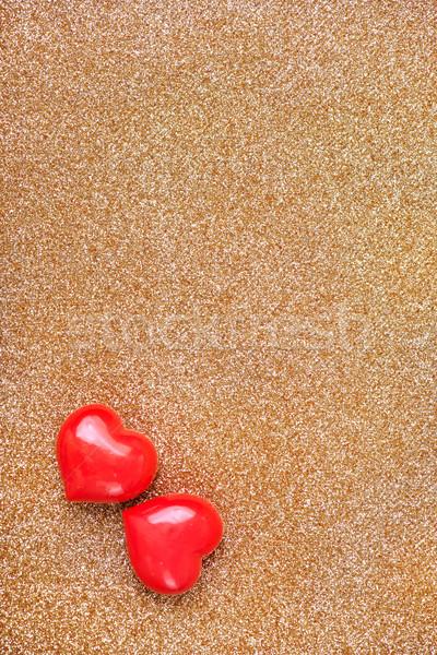 hearts Stock photo © tycoon