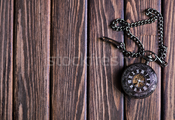 vintage pocket watch Stock photo © tycoon