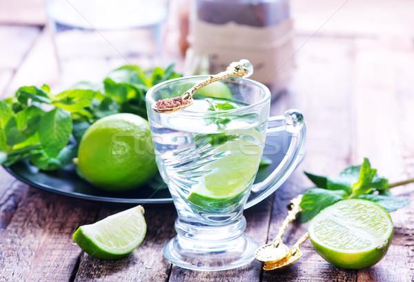 mint drink Stock photo © tycoon