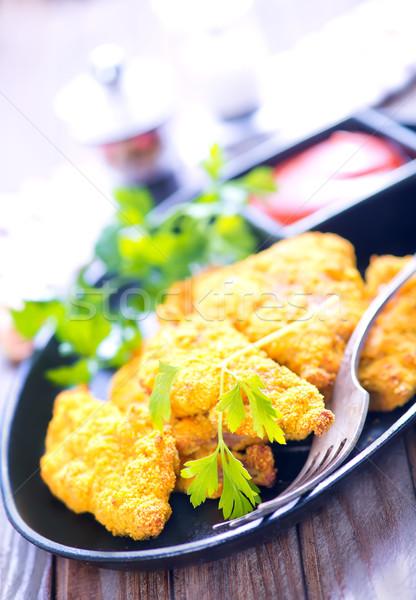 fried fish Stock photo © tycoon
