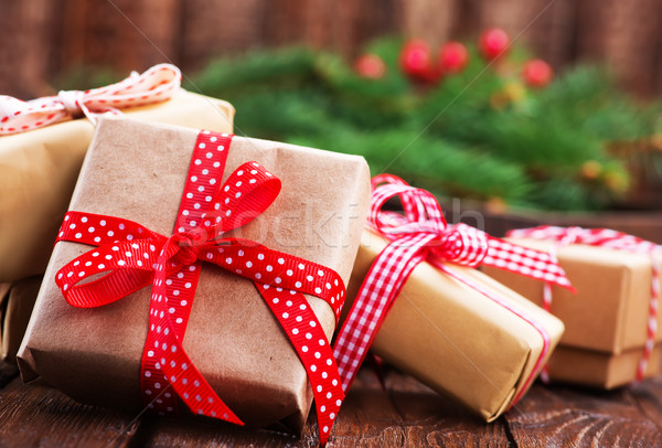 Gifts Stock photo © tycoon