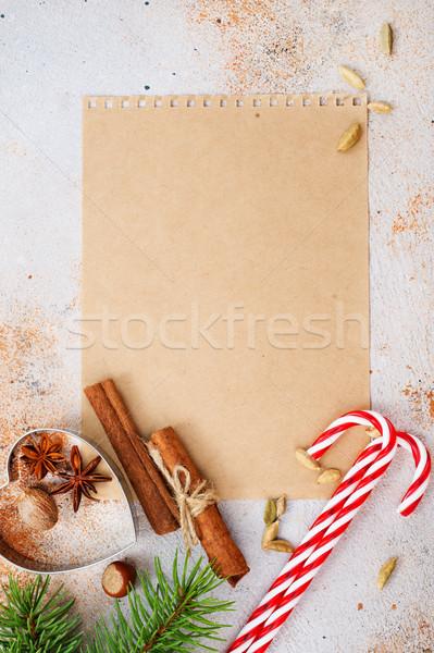 Noel noel diğer kış tatil bo Stok fotoğraf © tycoon