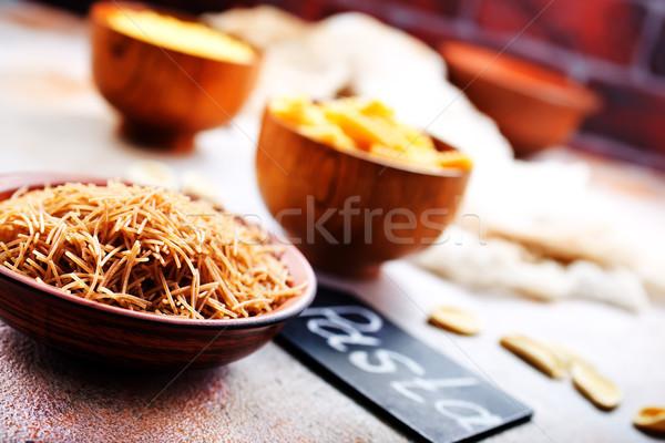 raw pasta Stock photo © tycoon