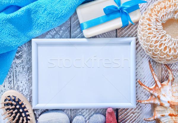 гигиена объекты морем Бар звездой Spa Сток-фото © tycoon