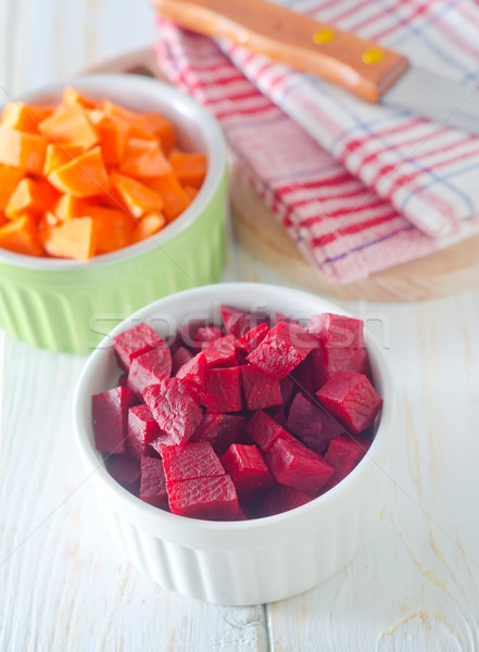 beet and carrot Stock photo © tycoon