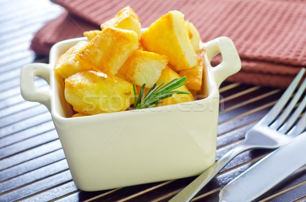Sült krumpli egészség konyha olaj vacsora Stock fotó © tycoon