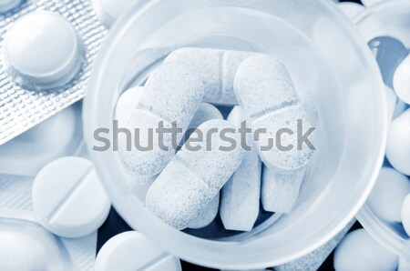 color pills Stock photo © tycoon