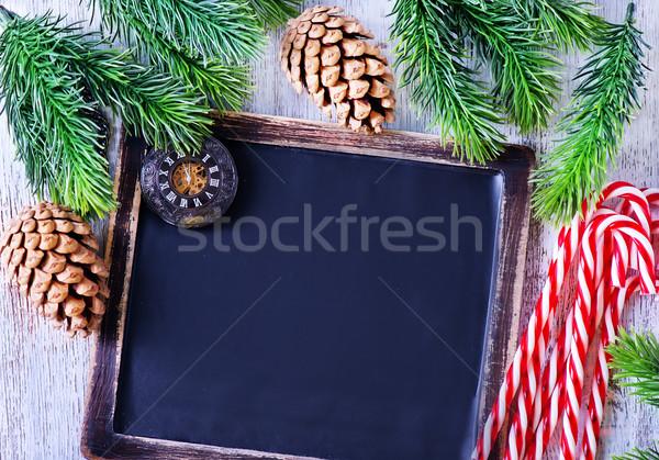 Natal doce comida fundo beleza Foto stock © tycoon