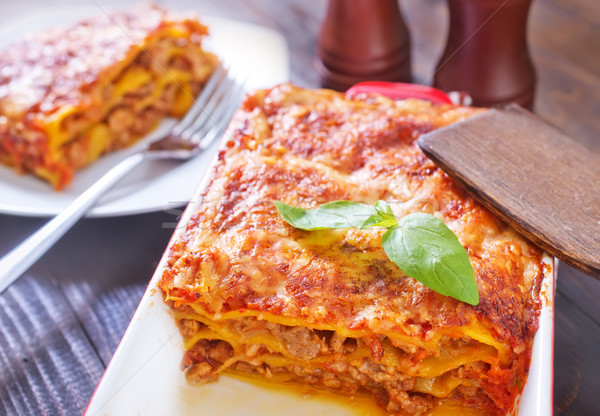 lasagna Stock photo © tycoon
