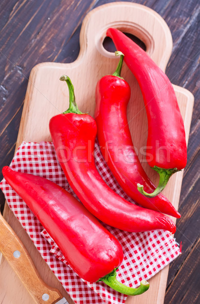 red peppers Stock photo © tycoon