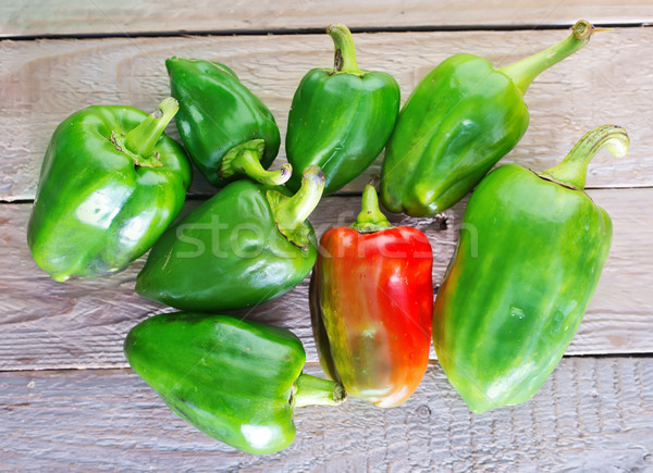 green pepper Stock photo © tycoon