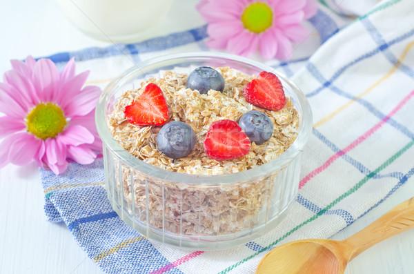 продовольствие подсолнечника кукурузы энергии завтрак виноград Сток-фото © tycoon