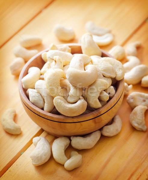 Organisch cachou geen shell textuur voedsel Stockfoto © tycoon