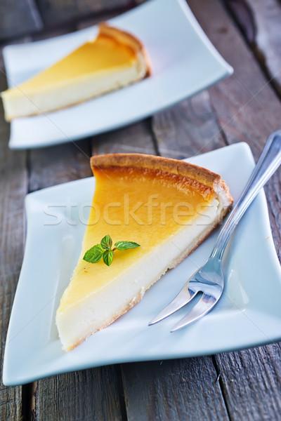 cheesecake Stock photo © tycoon