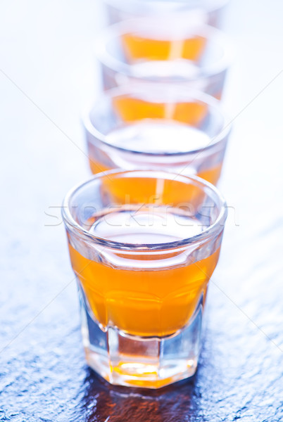 alcohol drink in glasses Stock photo © tycoon