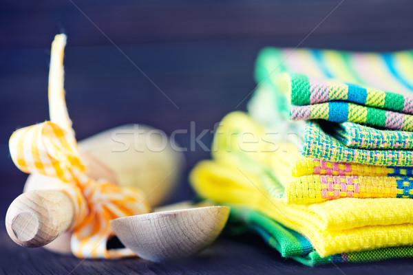 kitchen towels Stock photo © tycoon