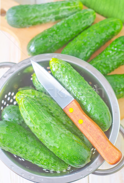 cucumbers Stock photo © tycoon