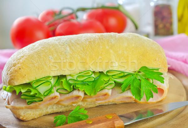sandwich Stock photo © tycoon