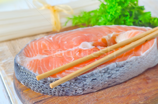 red salmon Stock photo © tycoon