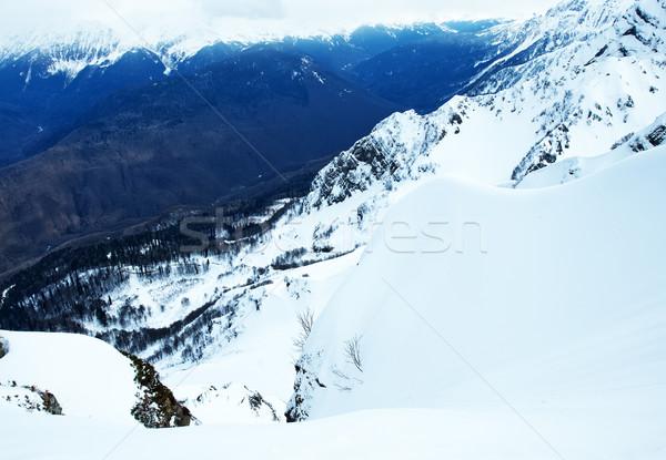 mountains Stock photo © tycoon