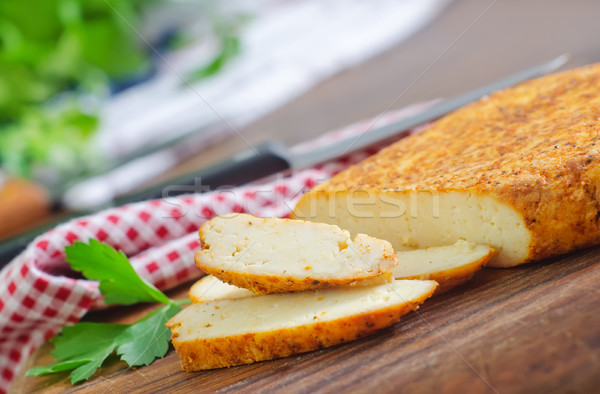 baked cheese Stock photo © tycoon