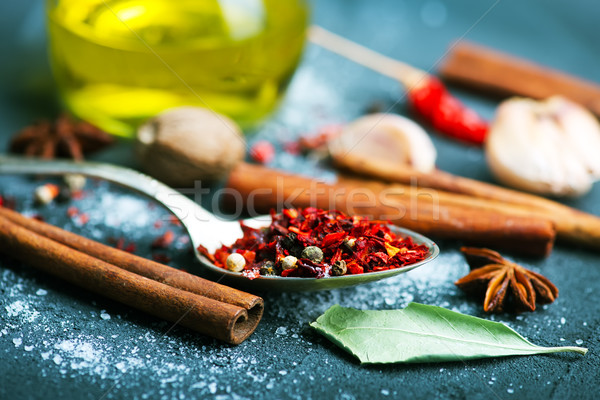 spice Stock photo © tycoon
