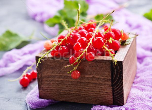 Rood bes houten natuur vers zoete Stockfoto © tycoon