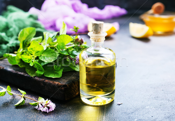 herbal oil Stock photo © tycoon
