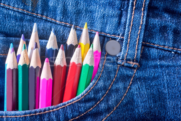 color pencil Stock photo © tycoon