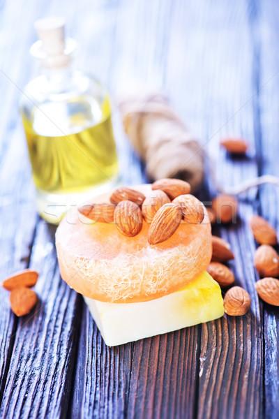 almond soap Stock photo © tycoon