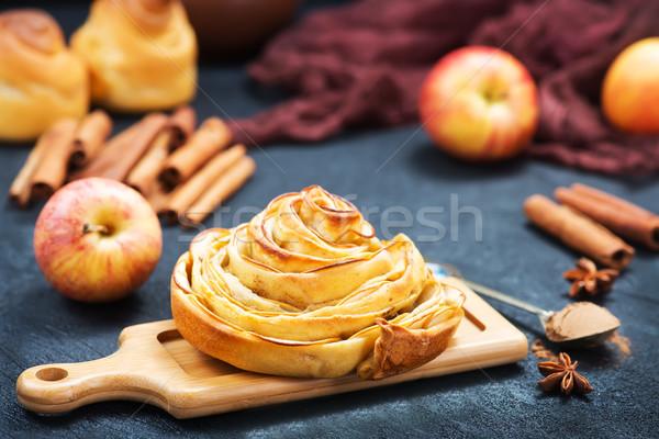 pie with apple Stock photo © tycoon